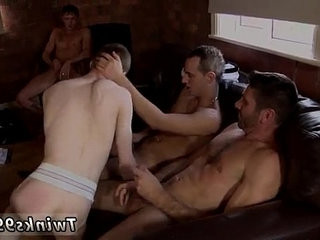 Hot twink scene scanty James Takes An Onslaught Of Cock!