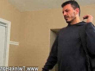 Gay pornographyo movies of orgies of bisexual guys Muscled daddy Collin loves