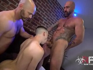 white boy bareback two dad