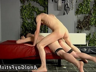 Young straight boys predominant gay dudes Fucked And Milked Of A Load