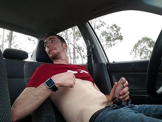 Car jerk off