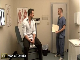Gay doctor Robbi-sexuale exam Phenixs ass at work only