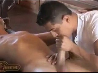 Sstrokes hottie getranssexual cock serviced and cum swbrown sphincter