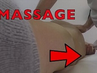 massage hidden camera records fat mother groping masseur and 039 s dick