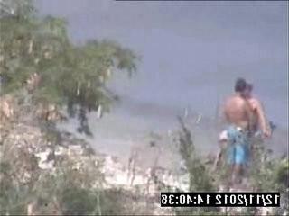 Punhetinha na praia